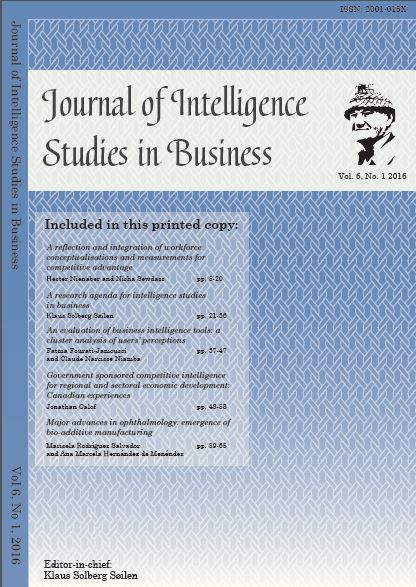 JISIB Vol 6 No 1 2016
